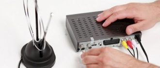 how to set up digital television on a TV through a set-top box