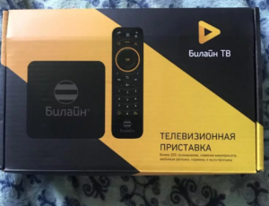 ТВ-приставка Билайн ТВ