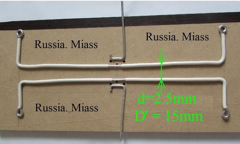 разметка будущей антенны на листе фанеры
