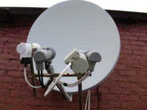 многофокусная спутниковая тарелка