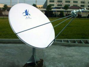 офсетная спутниковая тарелка