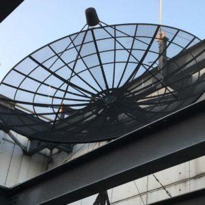 сетчатая спутниковая тарелка