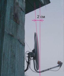 установка антенны