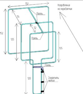 двойной тройной квадрат антенны