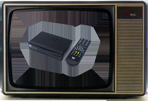 Инструкция как подключить цифровое телевидение к старому телевизору